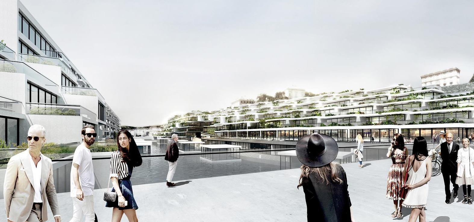 Genova Wharf Masterplan