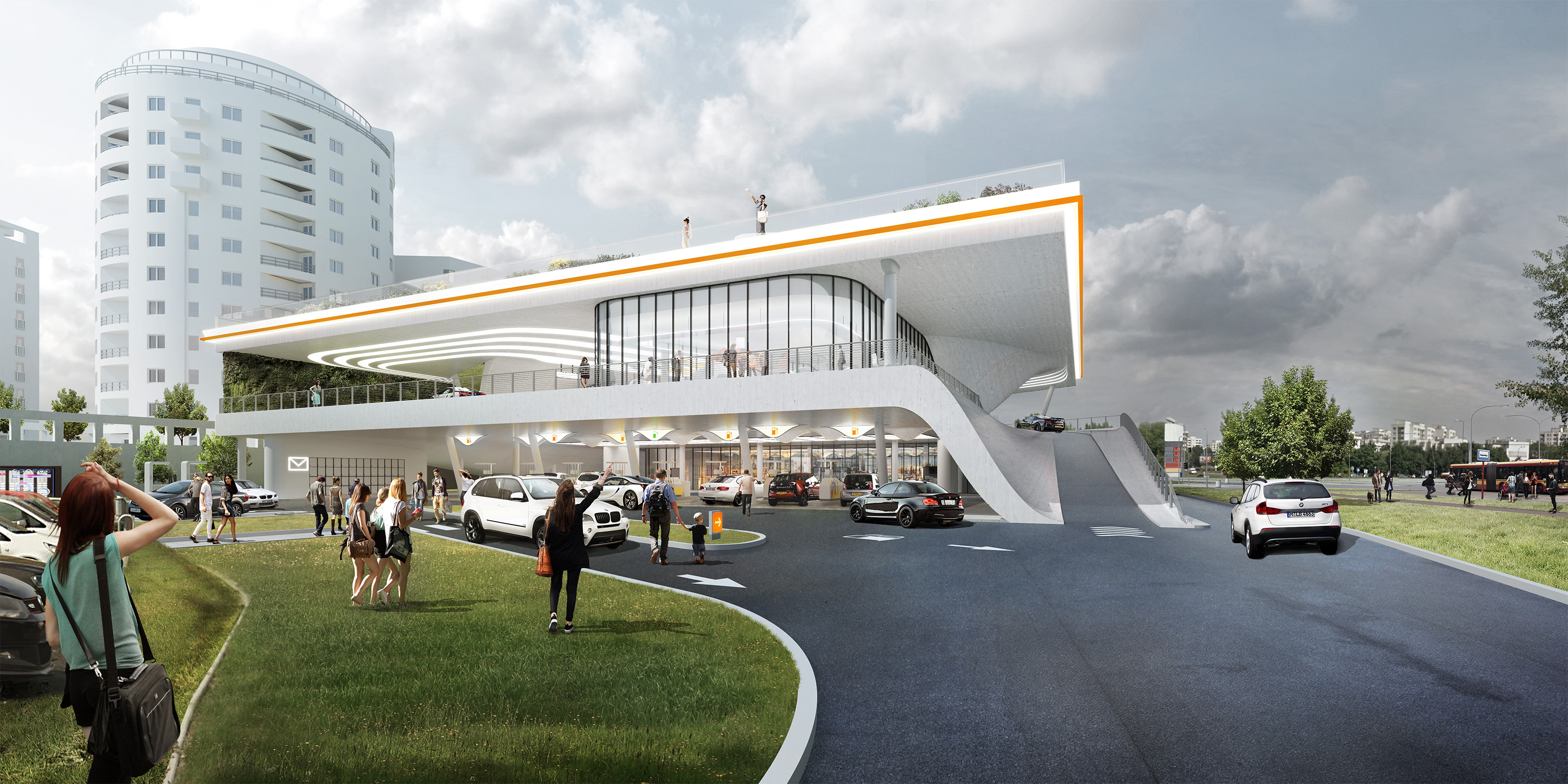 Flagship Filling Station of the Future